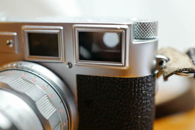 ライカ Leica M3 ファインダー窓