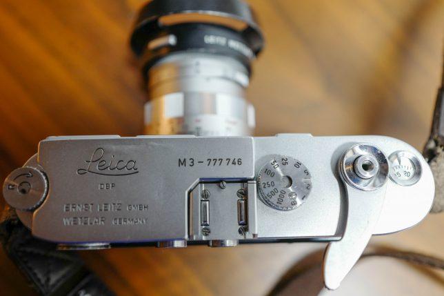 ライカ Leica M3 軍艦部