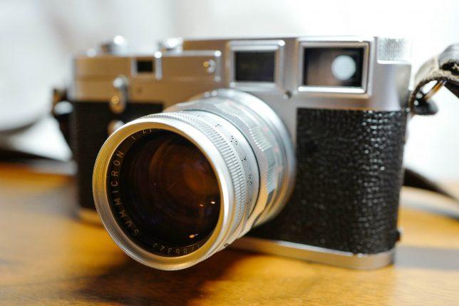 ズミクロン 50mm F2+ライカM3