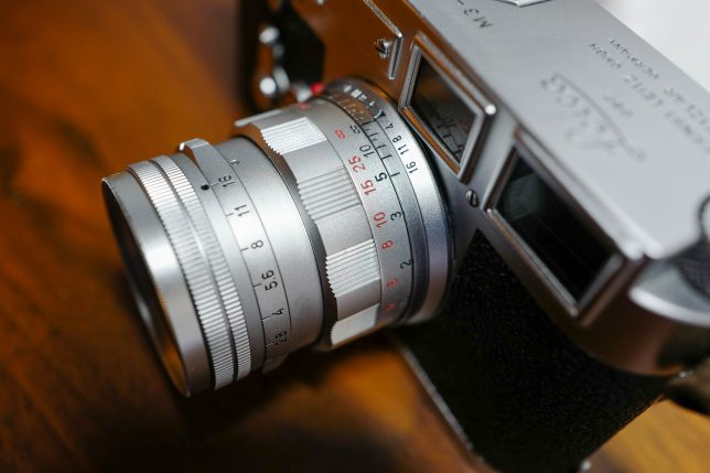 ズミクロン50mm F2 固定鏡胴 後期型