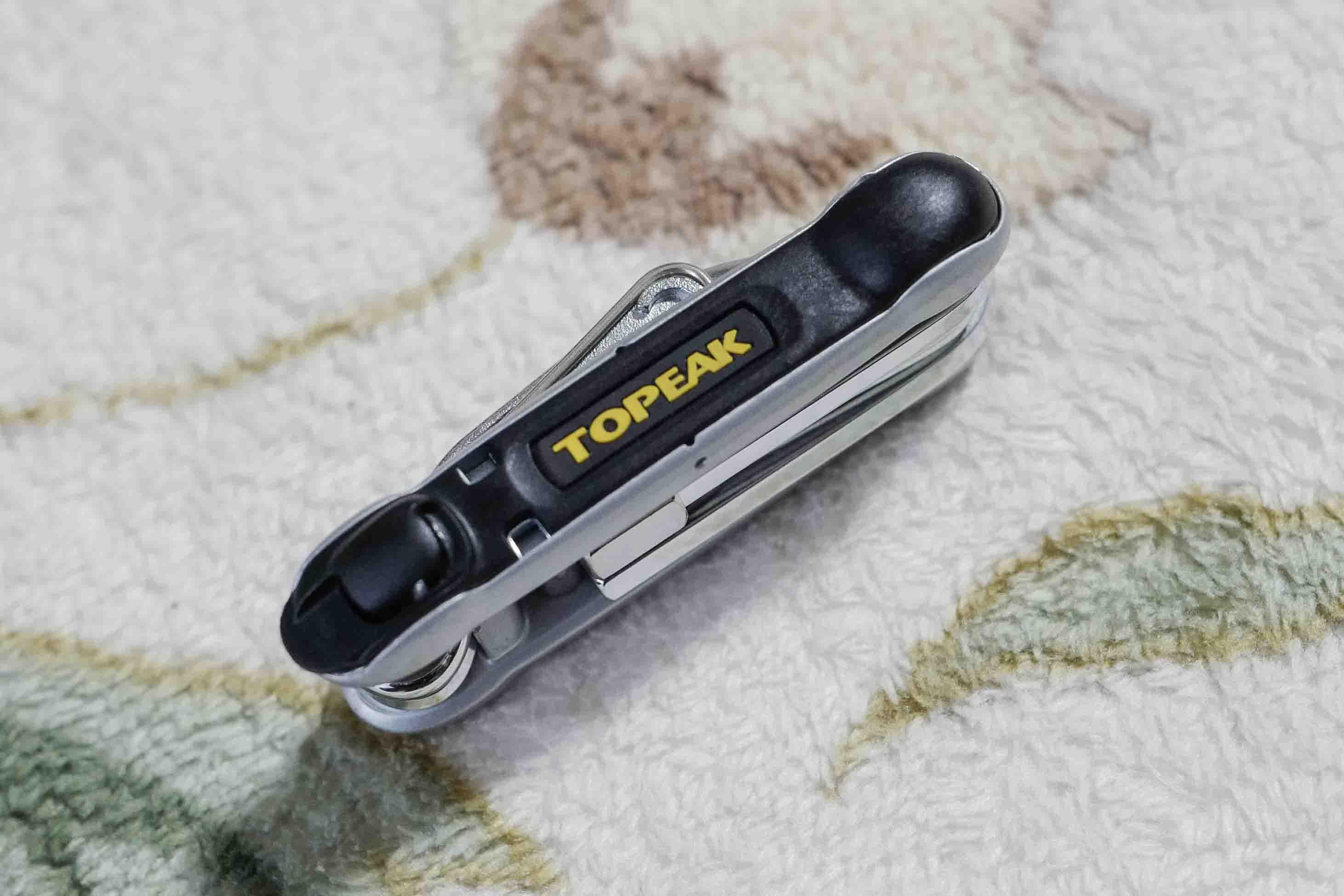 あったら安心!携帯工具はTOPEAK トピーク ツールヘキサス 2