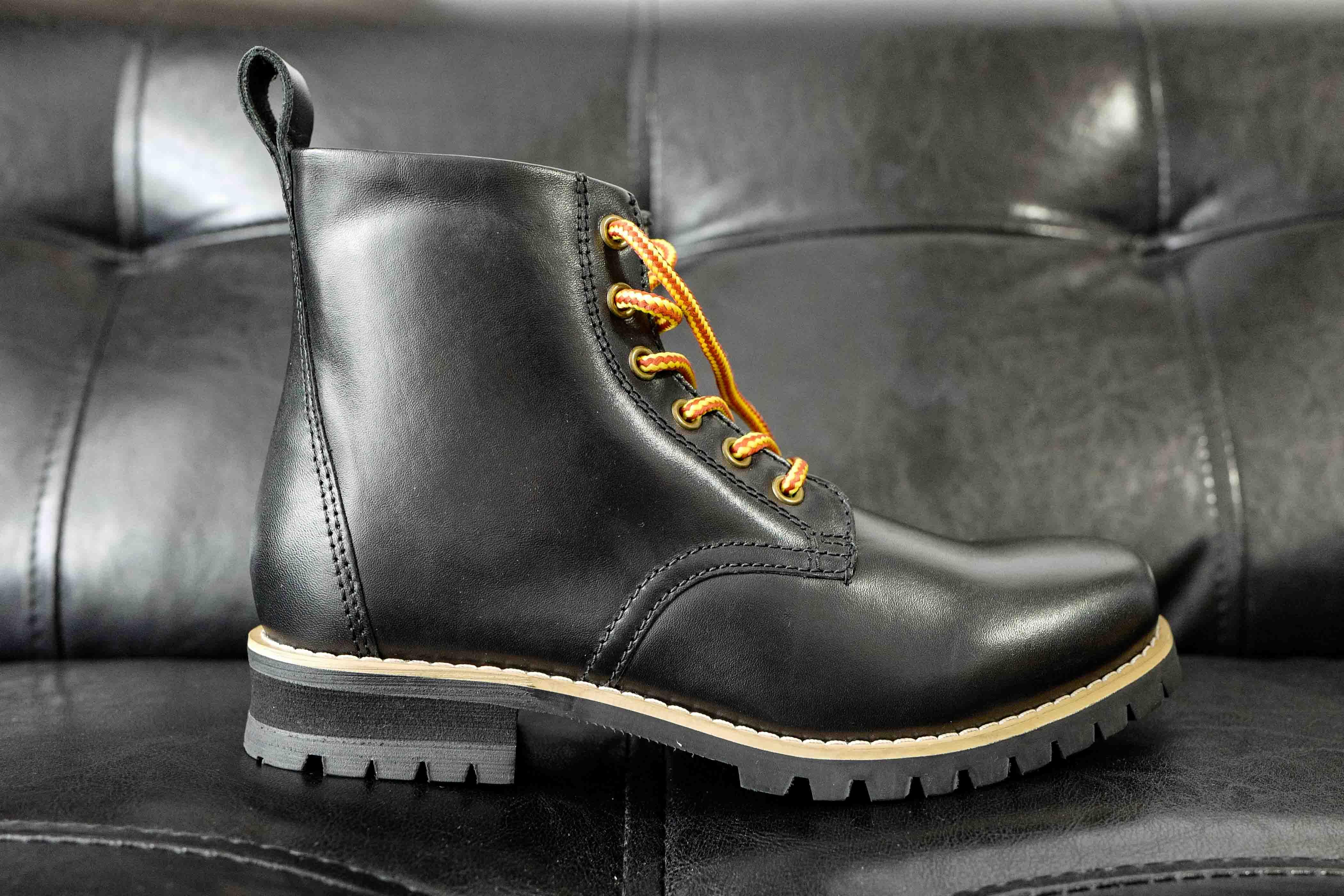 【本革製!】バイク用 ブーツはこれがおすすめ!デイトナ ヘンリービギンズ HBS-003 ショートブーツ!外観インプレ!