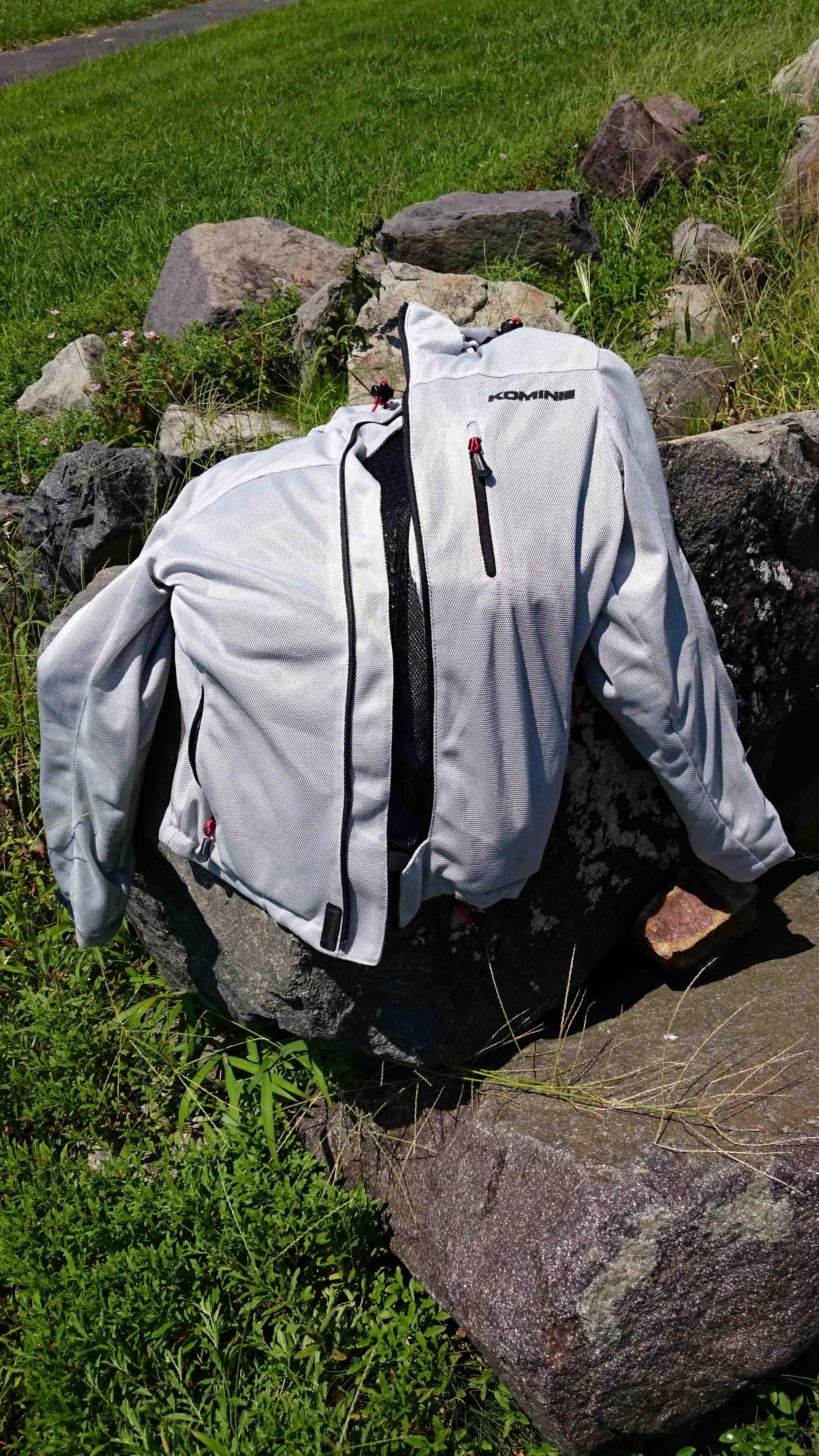 【風が体を貫通する!】コミネ メッシュジャケット JK-087実使用インプレ!【暑かろうが雨が降ろうが快適!】