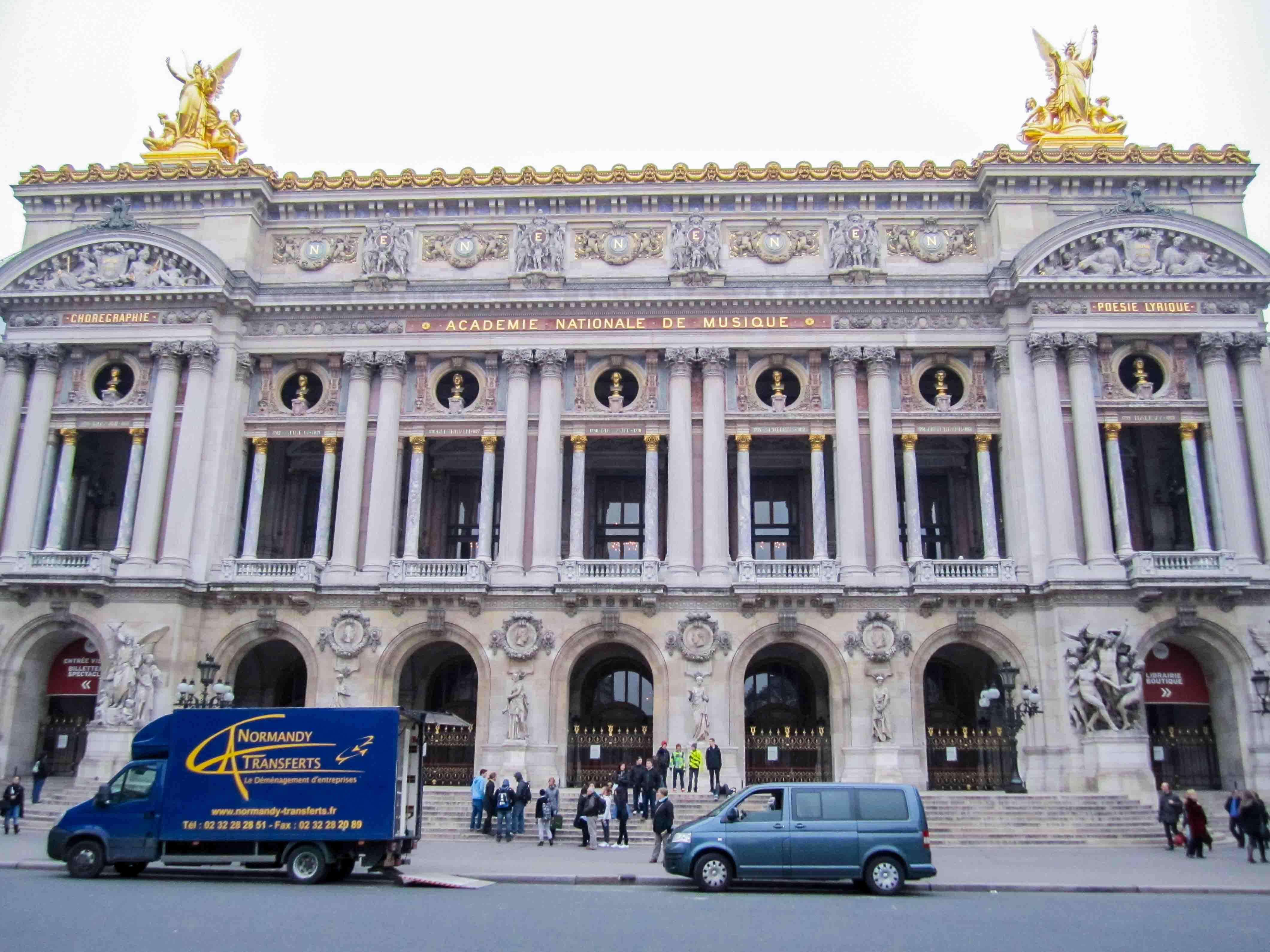 【フランス旅行】パリ オペラ座 ガルニエ宮へ