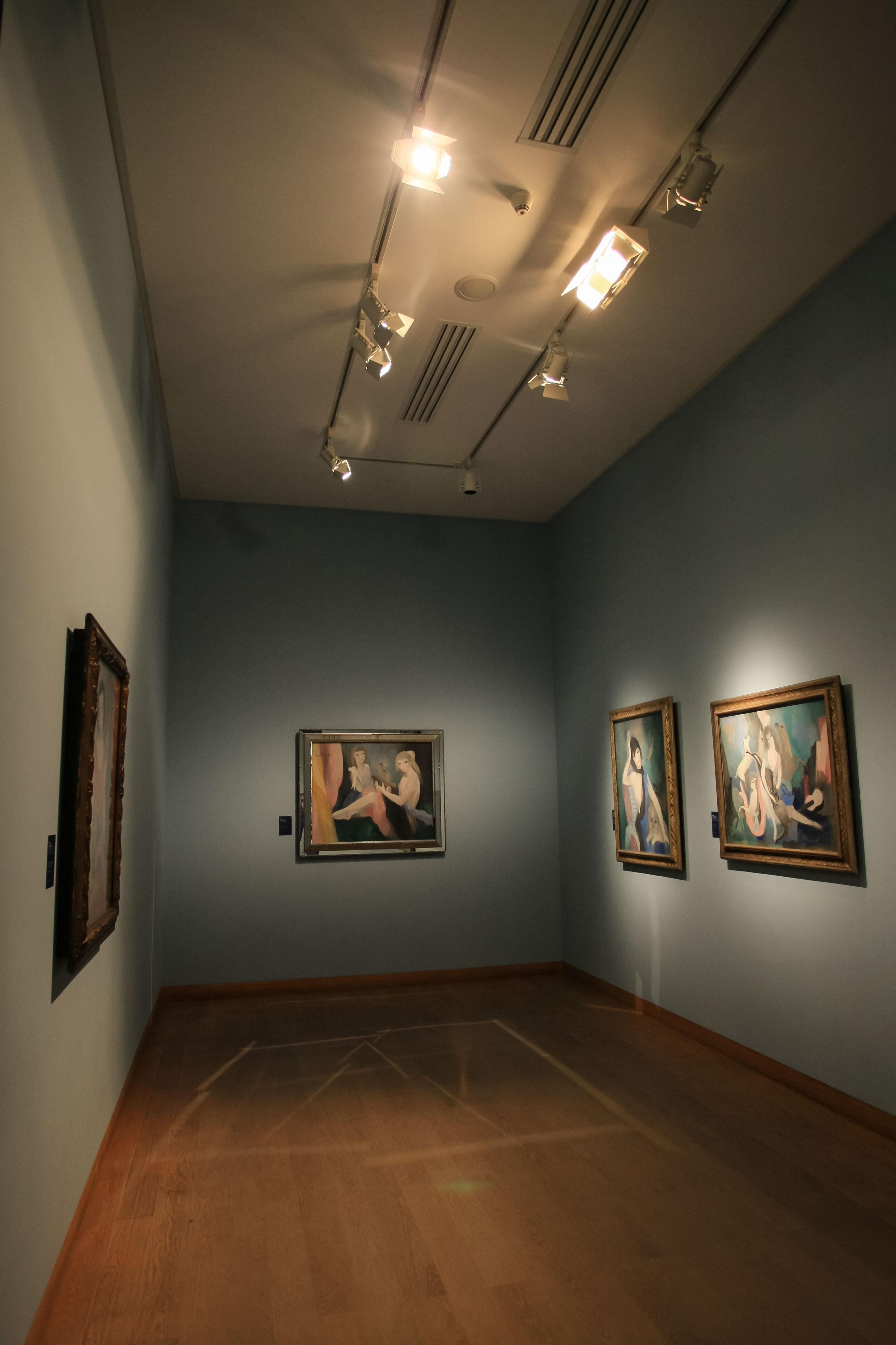 【フランス旅行】パリ オランジュリー美術館 いろんな部屋