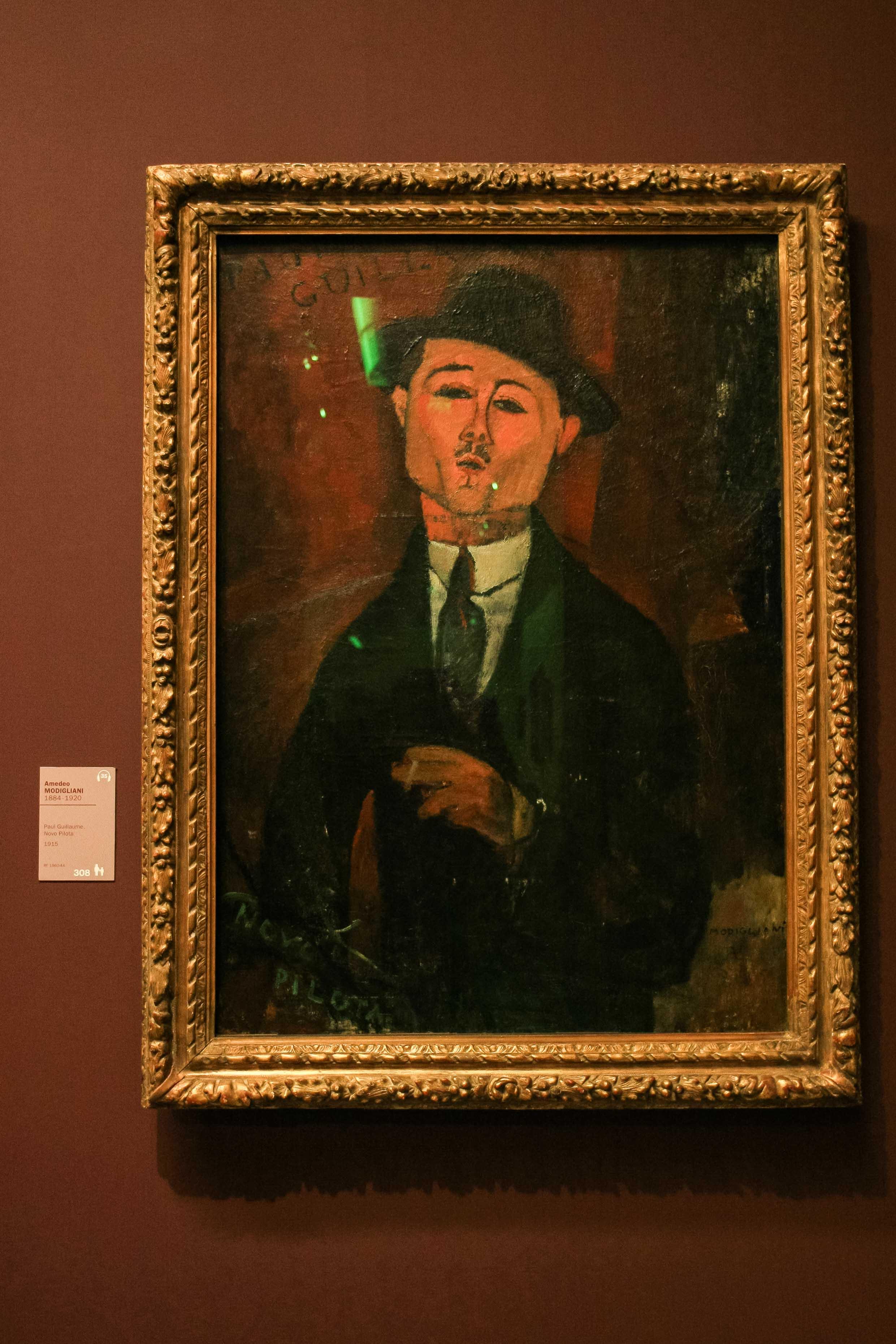 【フランス旅行】パリ オランジュリー美術館 オメデオ・モディリアーニとは