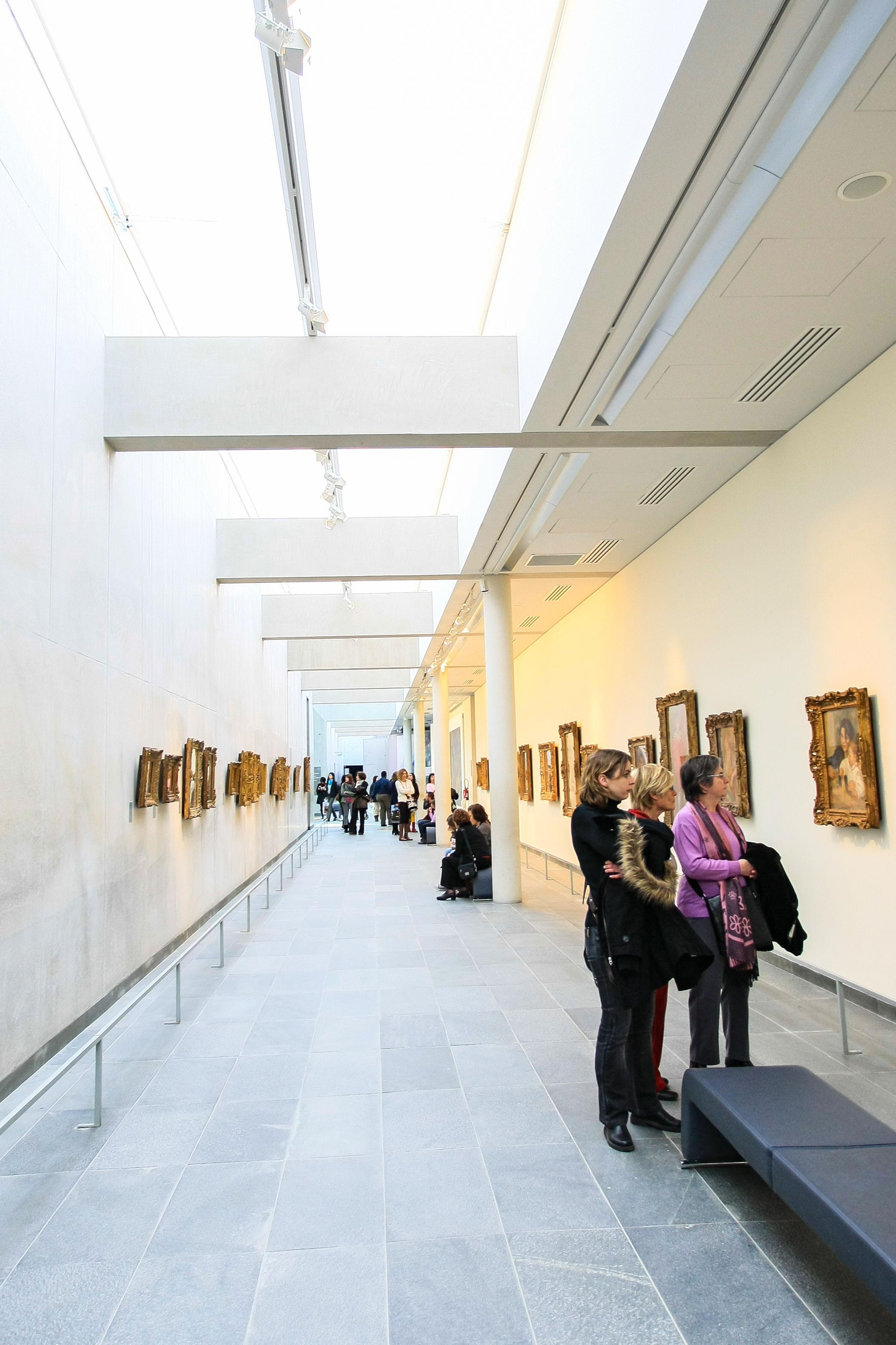 【フランス旅行】パリ オランジュリー美術館 素敵な空間