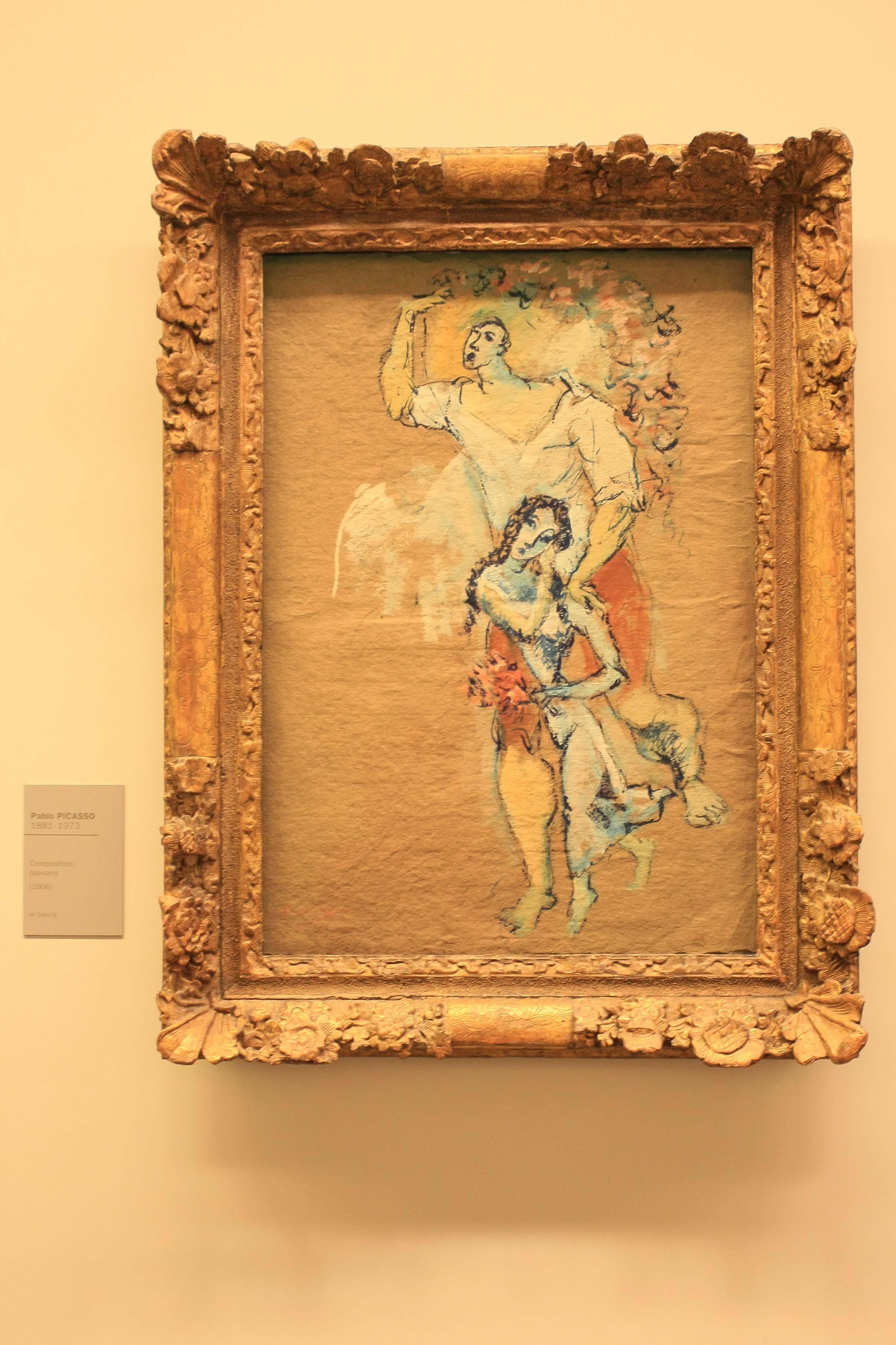 【フランス旅行】パリ オランジュリー美術館 ピカソの絵