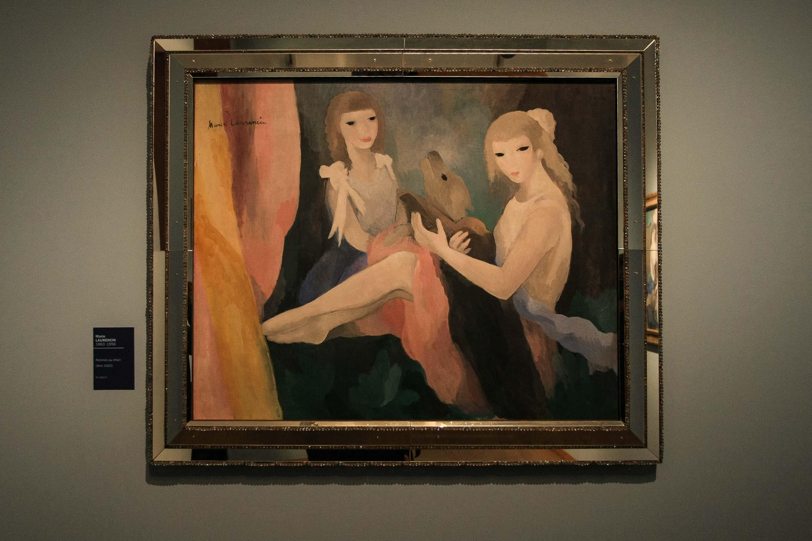 【フランス旅行】パリ オランジュリー美術館 マリー・ローランサンの絵