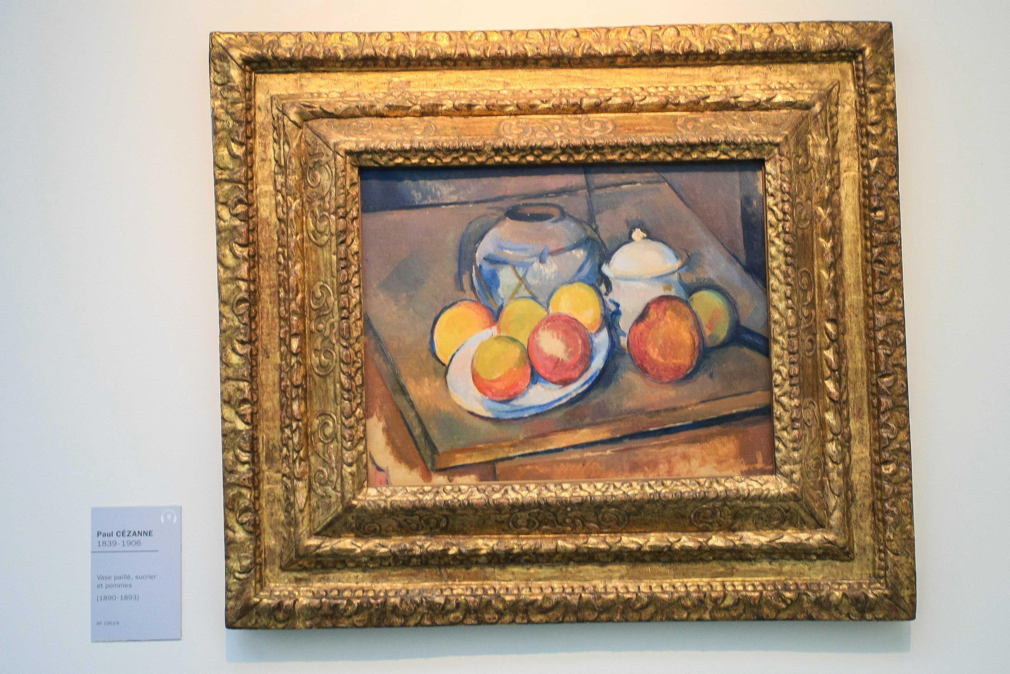 【フランス旅行】パリ オランジュリー美術館 セザンヌも見れる