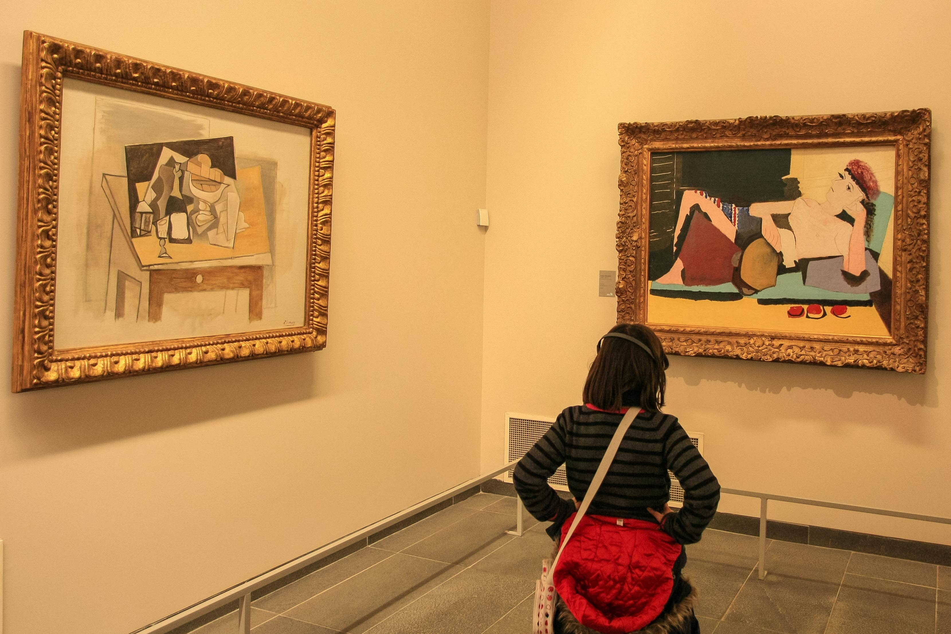 【フランス旅行】パリ オランジュリー美術館 ピカソの作風