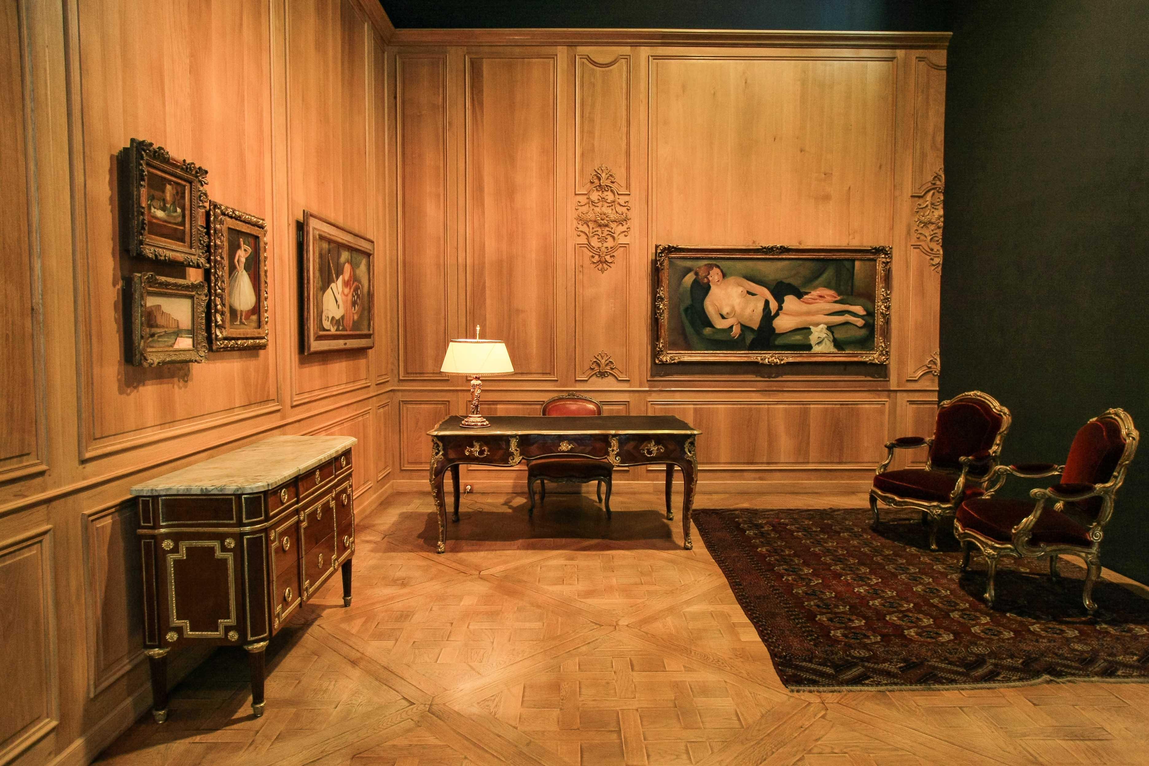 【フランス旅行】パリ オランジュリー美術館 ポール・ギヨーム邸の模型
