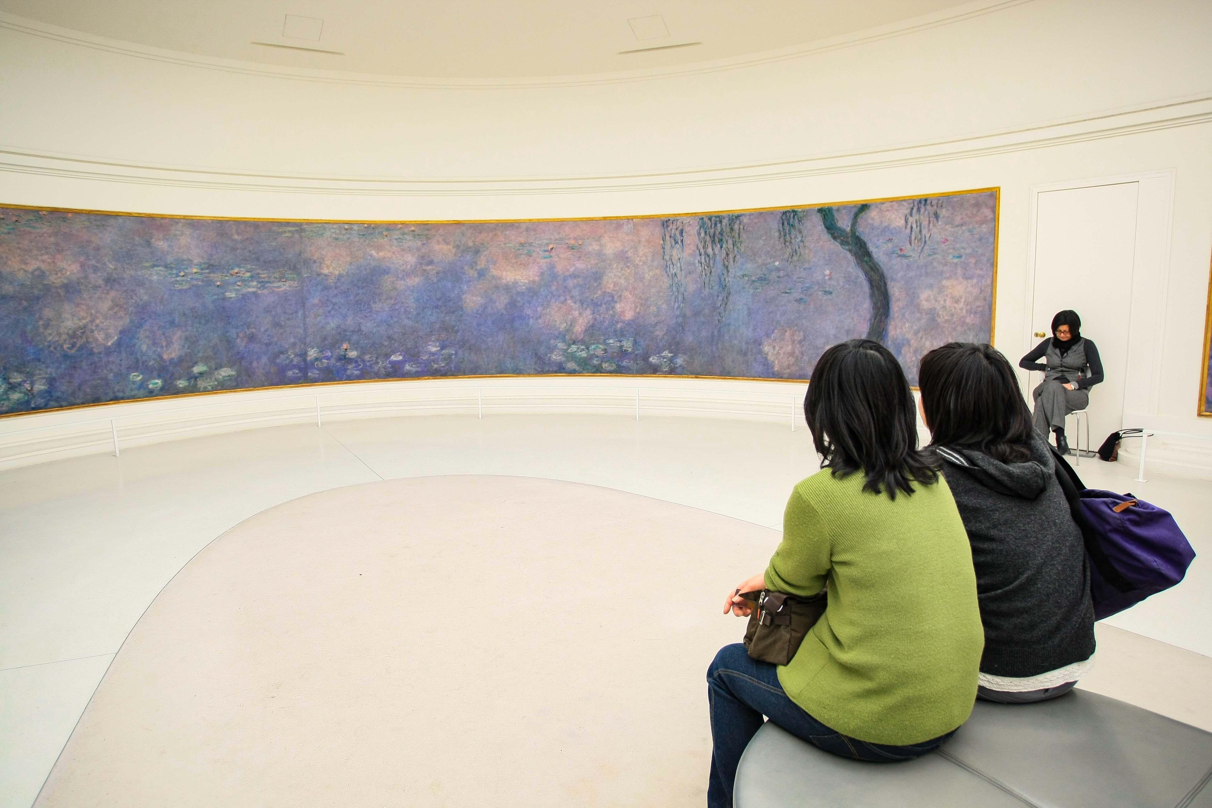 【フランス旅行】パリ オランジュリー美術館 睡蓮をぼーっと眺めるもよし