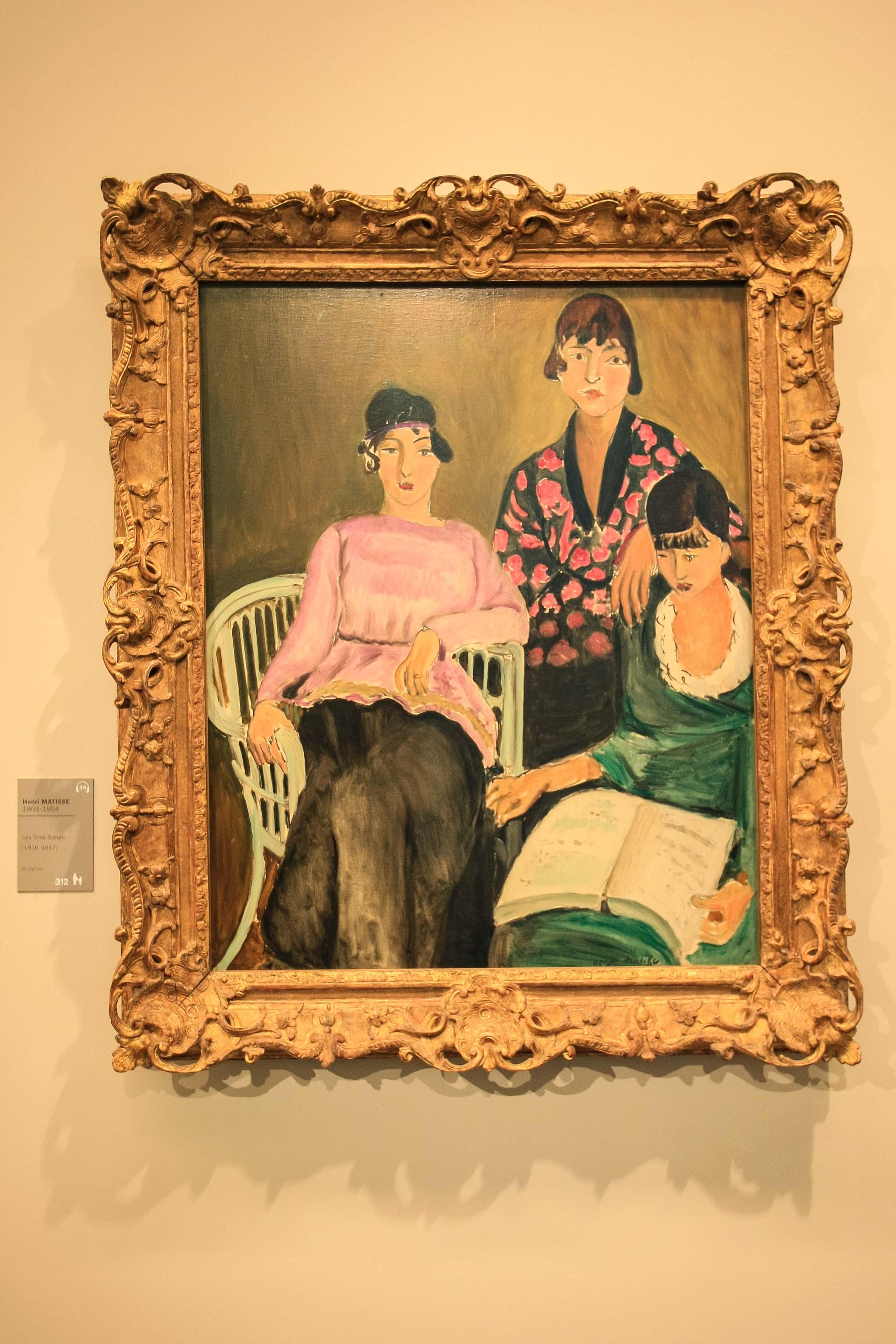 【フランス旅行】パリ オランジュリー美術館 アンリ・マティスという画家