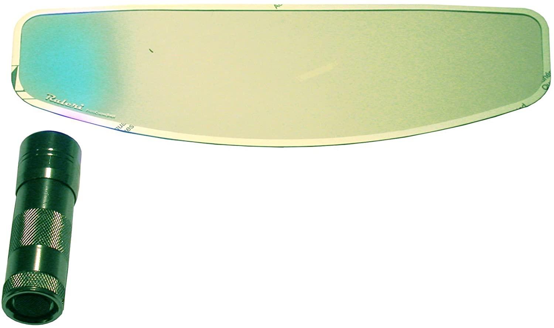 【シールドに貼るだけ!紫外線に反応してサングラスになる魔法のシート】Raleri 40 Pcshadeスタンダードフォトクロミックアンチフォグインサート【調光機能付きシート】