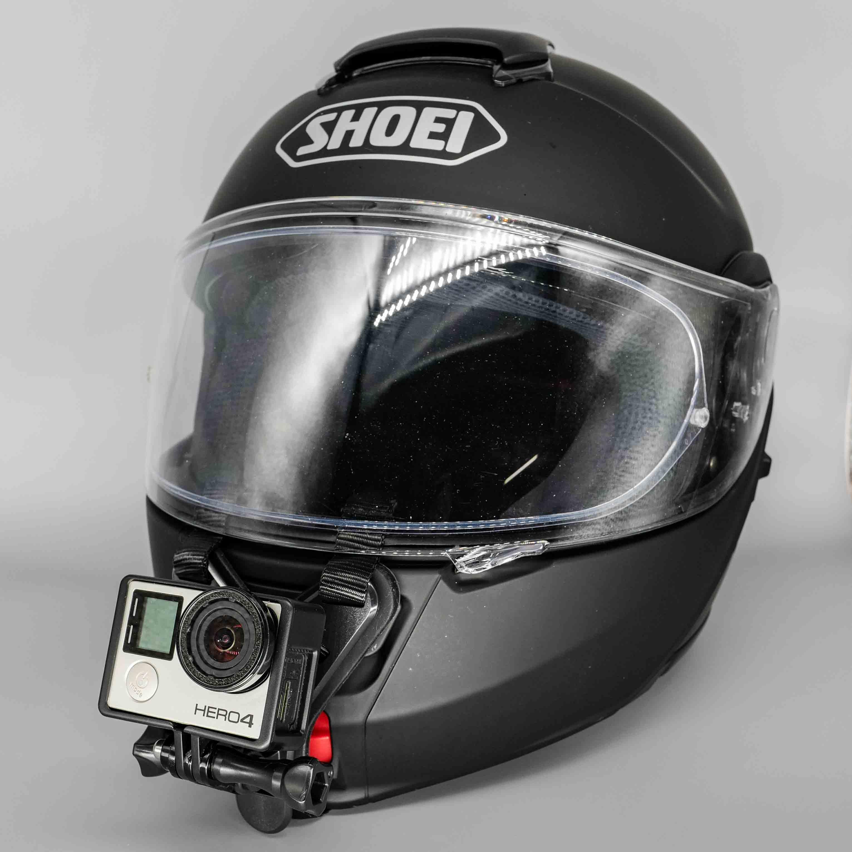 【貼らない!次世代ヘルメットマウント】<Taisioner>オートバイヘルメット用下顎ストラップマウント ヘルメットチンホルダー【紐タイプ!】