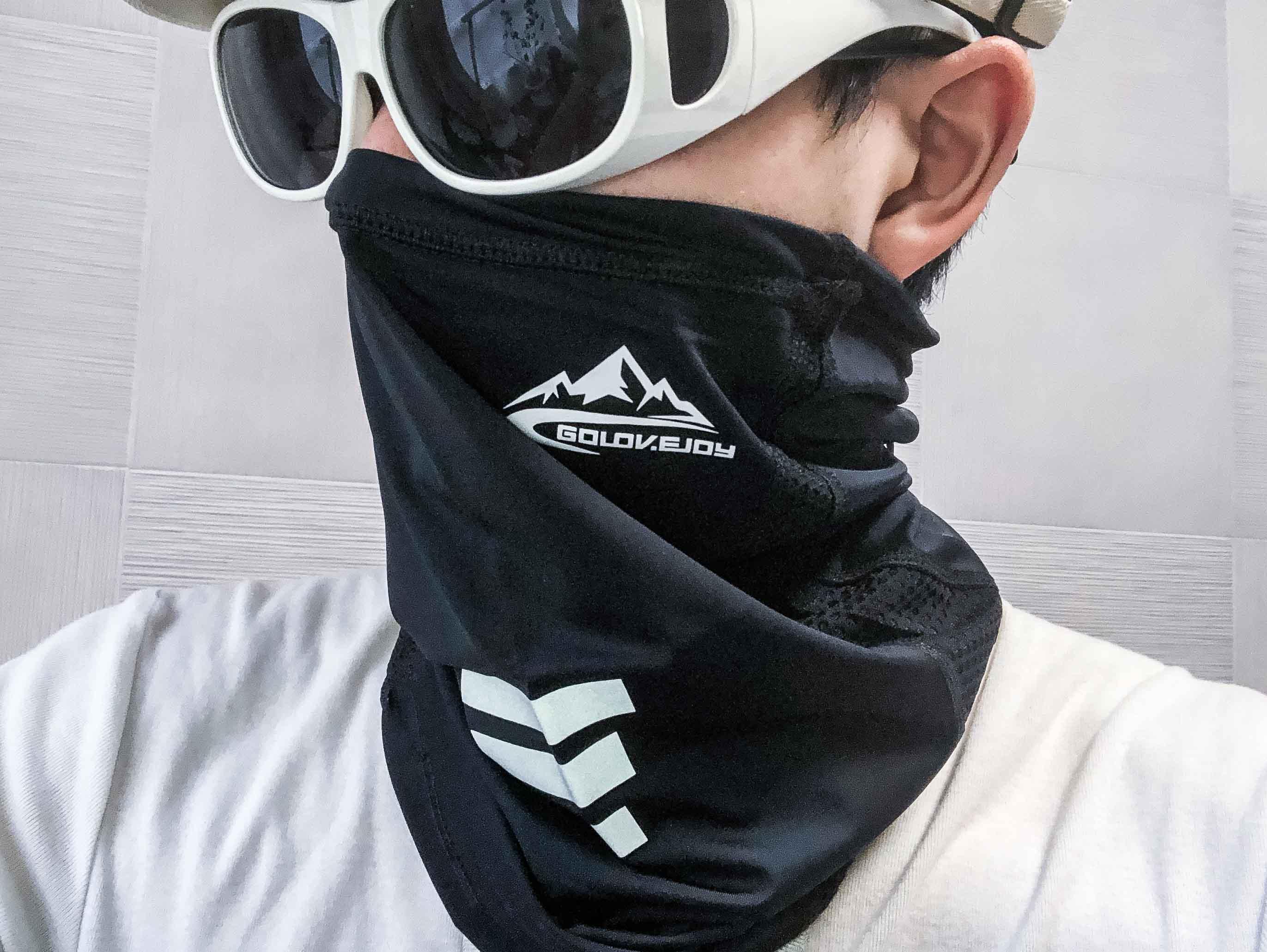 【耳掛有無・素材違いを4種類比較!】おすすめ夏用冷感フェイスマスク ランキング!【バイク・ロードバイク・運動する方必見!】