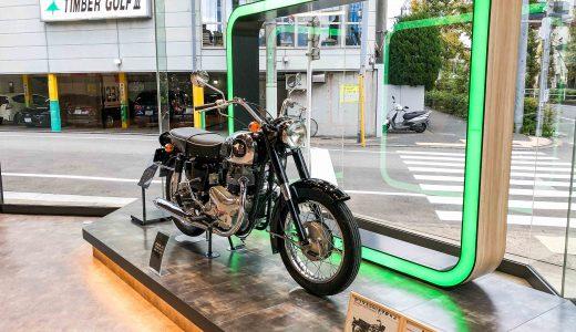 【実車観察】カワサキ500 メグロK2は本当にWシリーズの祖先?