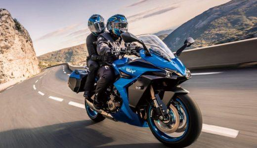 【ヤマハホンダの中間デザイン?】スズキ 「GSX-S1000GT」が発表!【Ninja1000SXやH2 SX SEより乗りやすそう】
